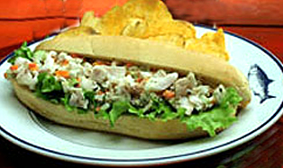 Seafood Salad Sandwiches picture